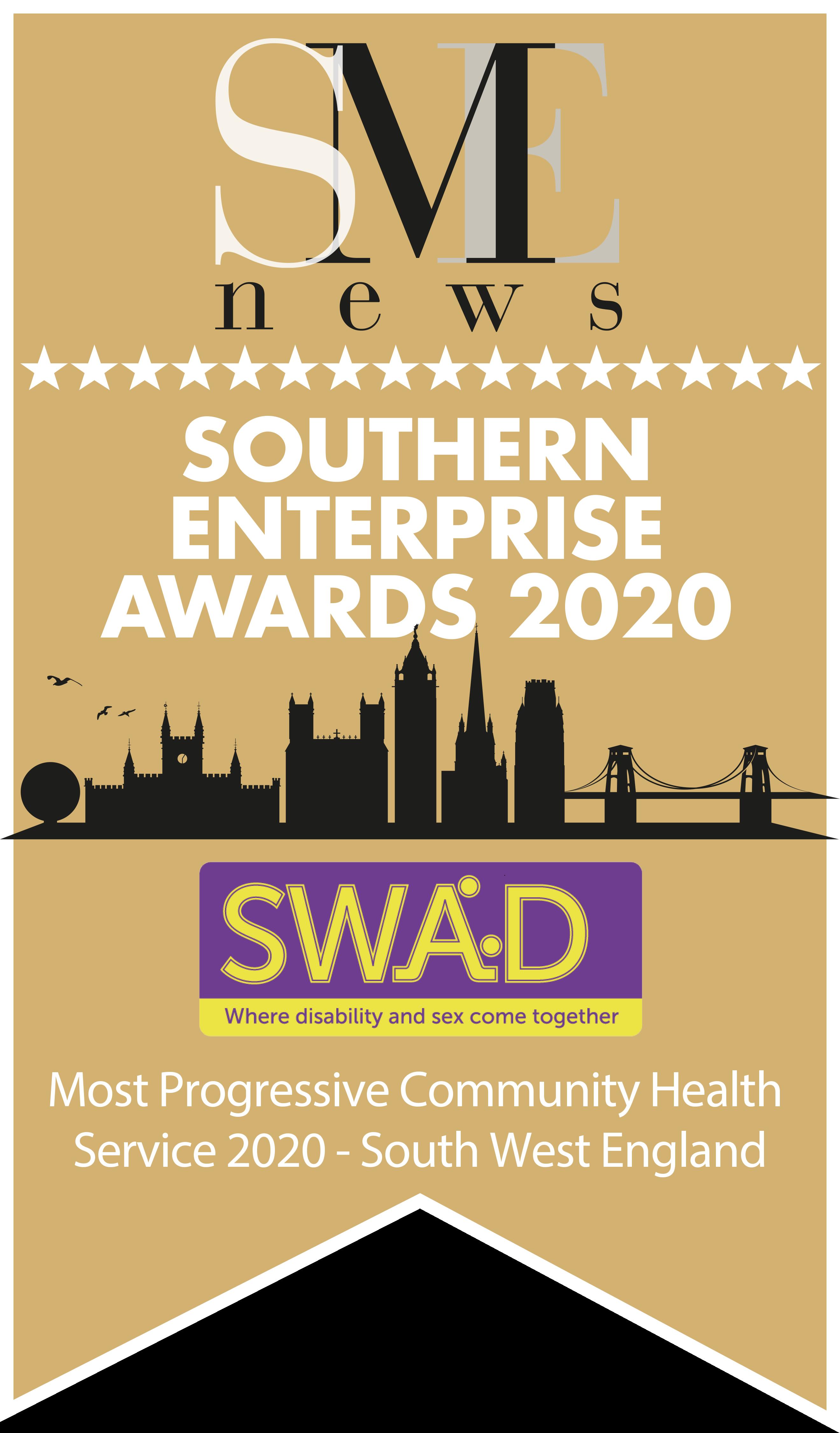 Winner Southern Enterprise Awards 2020