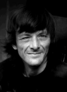 Jamie Black and white portrait