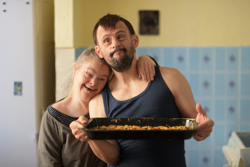 couple down syndrome love couple